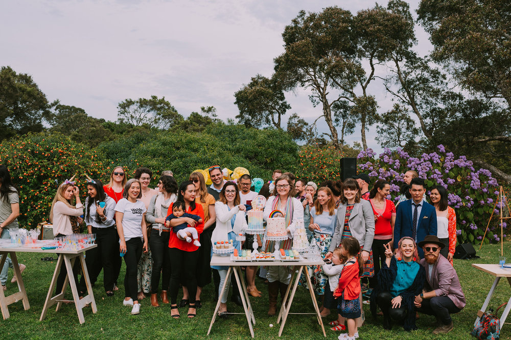 The Sydney TWE community gathered together in support of Marriage Equality. Photo by Angus Porter Photography
