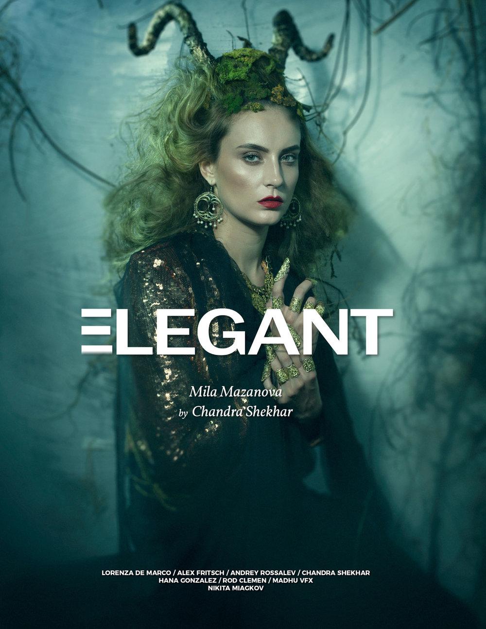 Elegant magazine by Chandra Shekhar