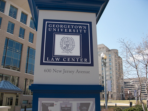 Representatives of Georgetown University Law Center located in Washington, D.C. will be hosting a Skype session with University of St Andrews Law Society on 25 September.