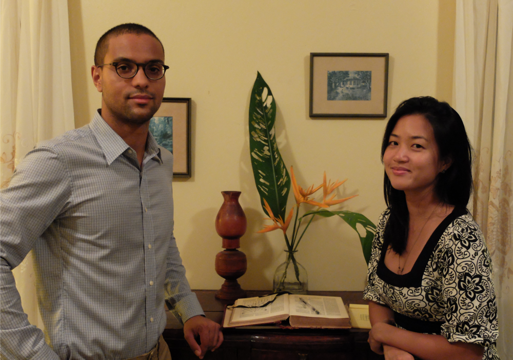 Plantain's Co Founders, Zaake and Felicia