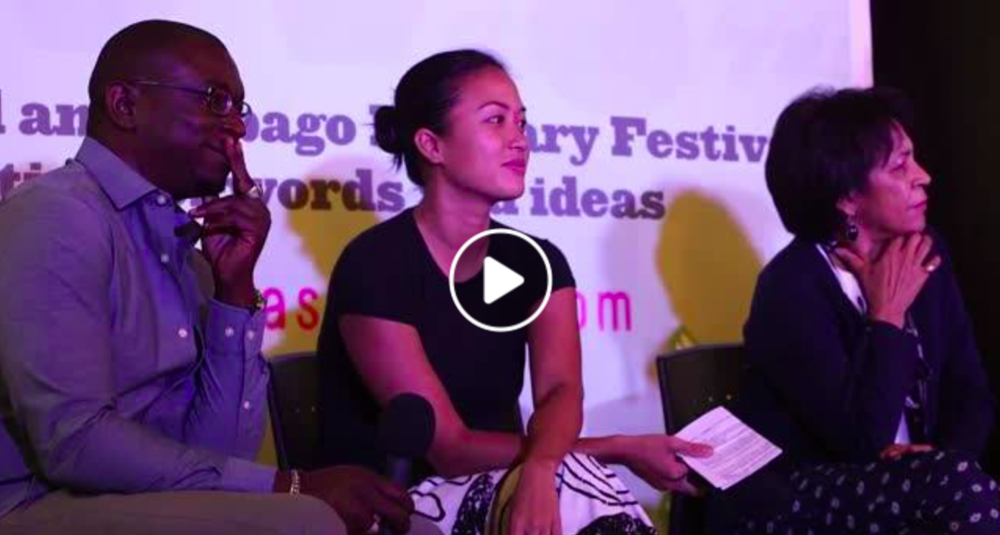 Bocas Lit Fest - Speaking as a panelist about the relevance of family history to wider society at the number one Literary Festival in the Caribbean.