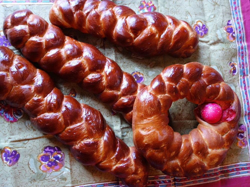 Tsoureki www.christinecushing.com