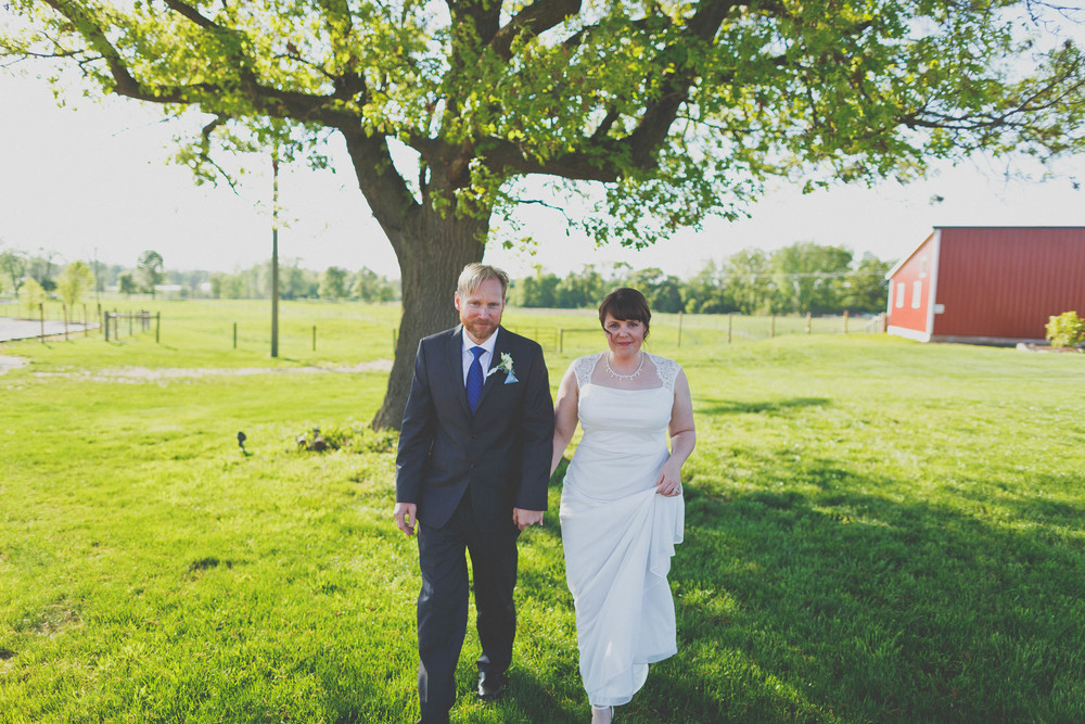 Zingerman's Cornman Farm Intimate Wedding - Jennifer and Daryl