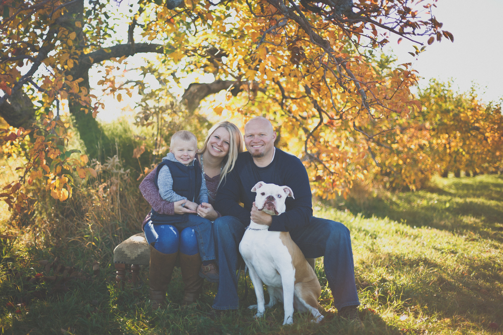 Simoneau Family // Fall Mini Session