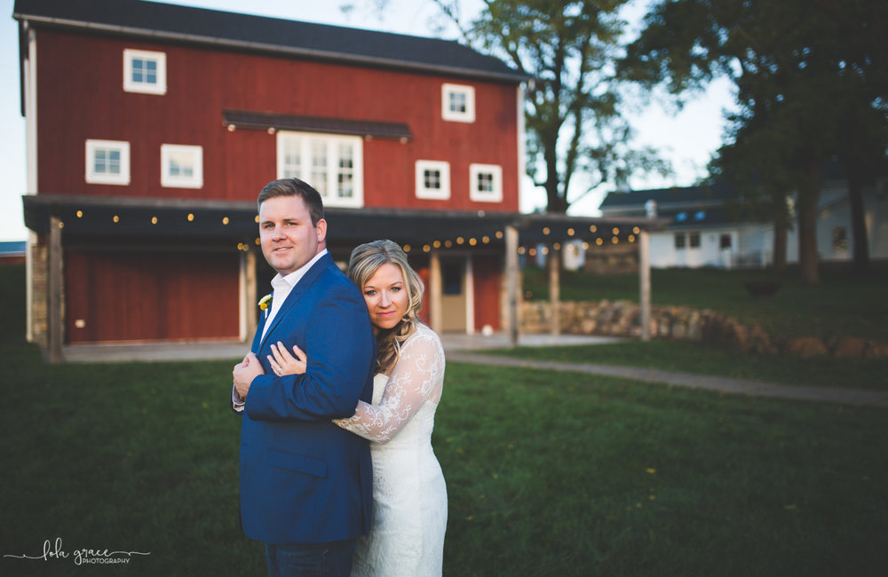 Allison and Sam - Cornman Farms Intimate Wedding