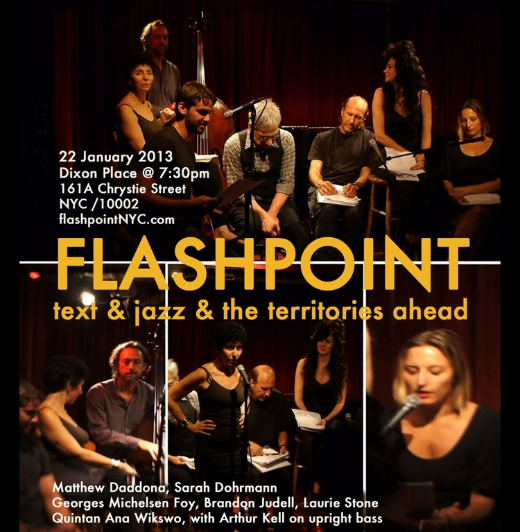 FLASHPOINT at Dixon Place