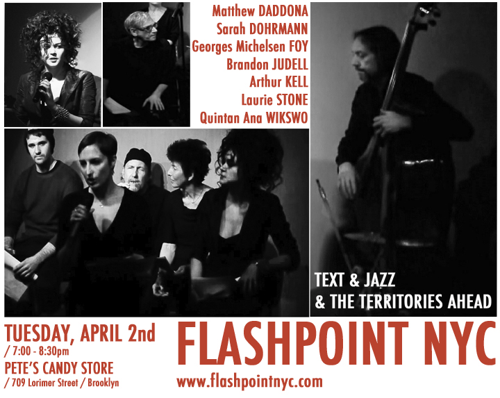 FLASHPOINT at Pete's Candy Store