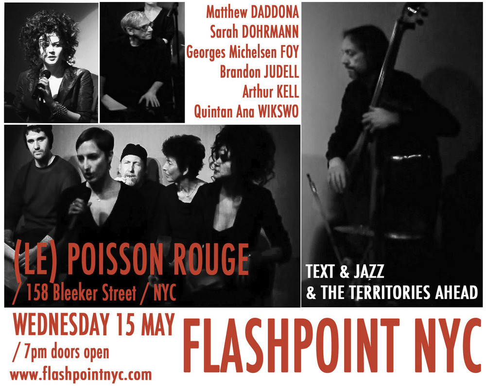 FLASHPOINT at LE POISSON ROUGE