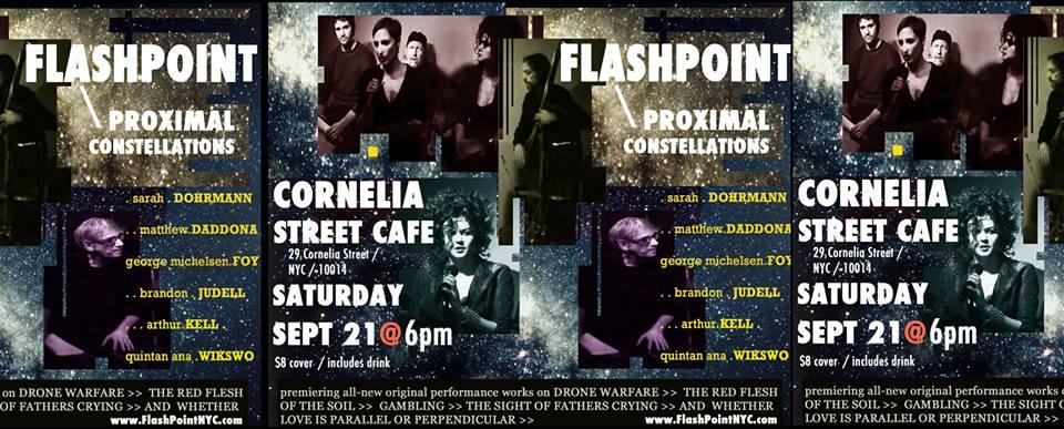FLASHPOINT at CORNELIA STREET 2