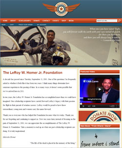 Donate to the LeRoy Homer Foundation