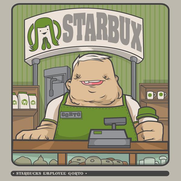 Starbux Employee Gorto.