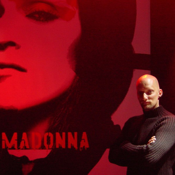 ON TOUR WITH MADONNA