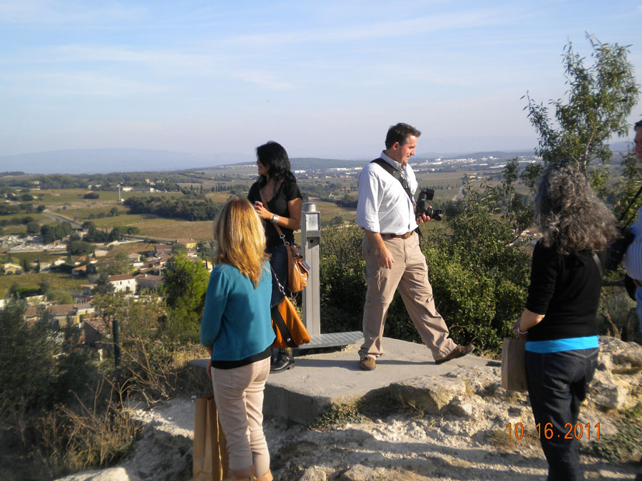 Admiring Provencal views
