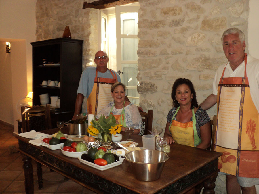 Provencal cooking lesson