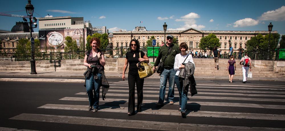 Tour France and visit Paris...including the Pon des Artes