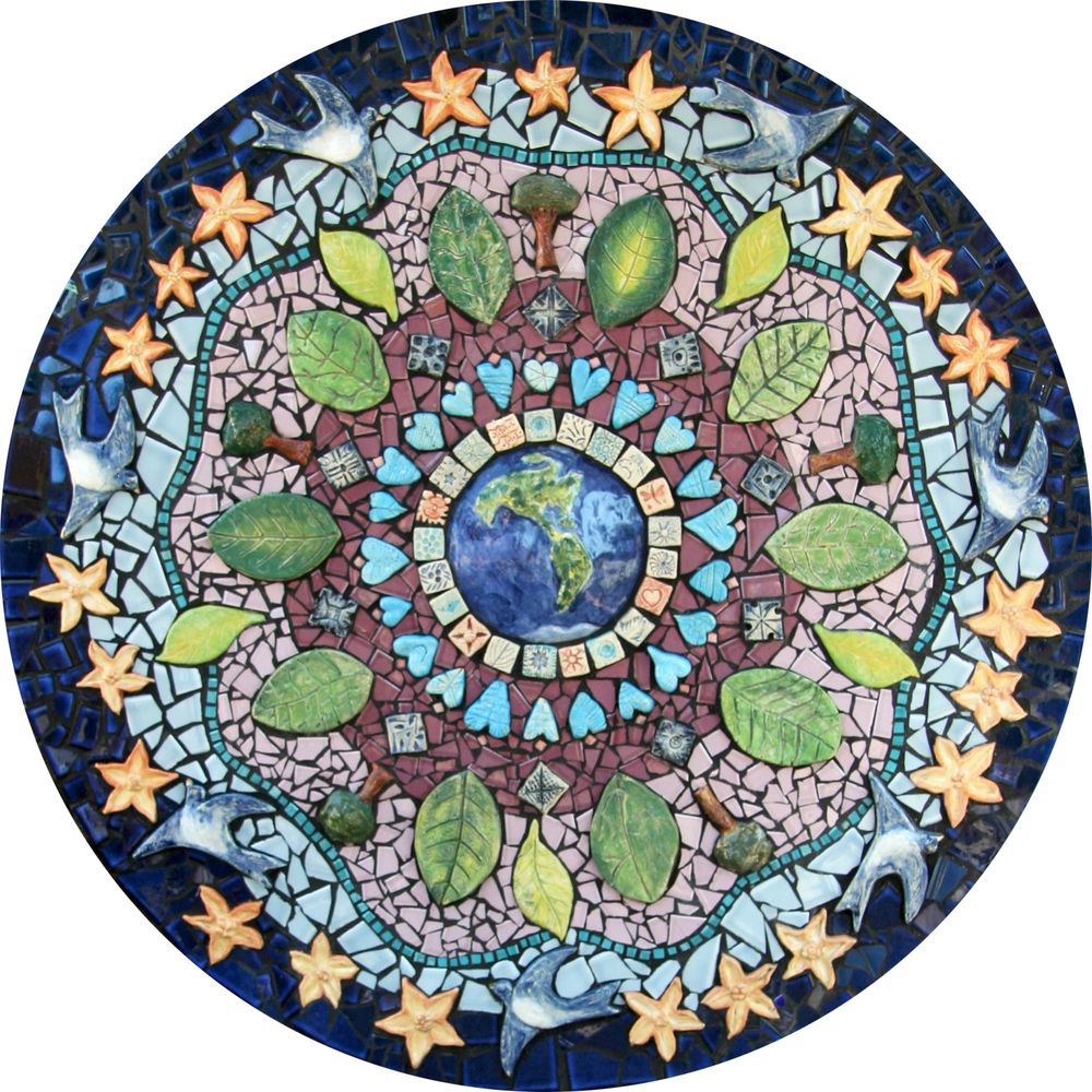 Salem Peace Mosaic mandala