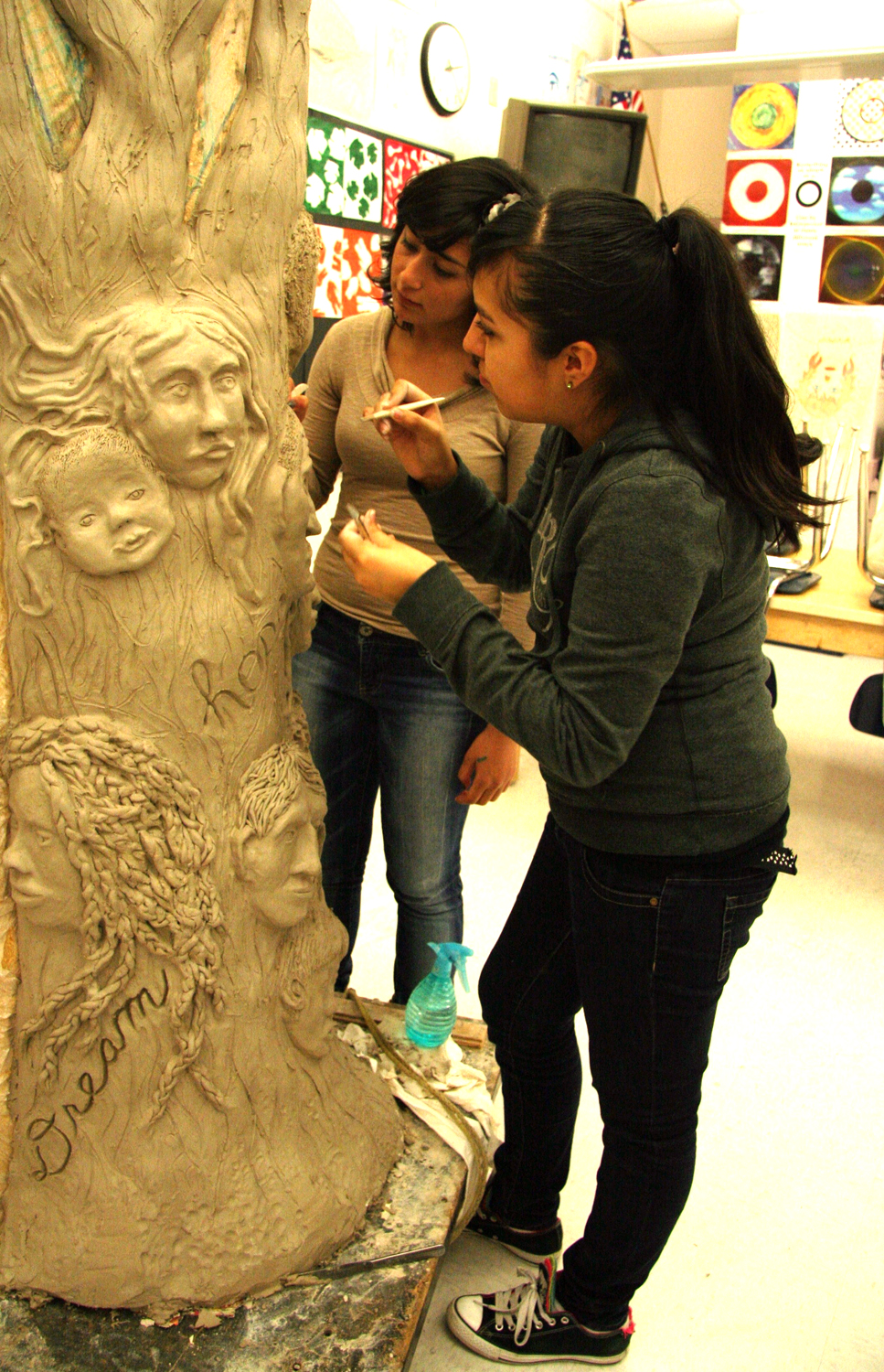 Lynn Takata; Tree of life process with North Salem High School students