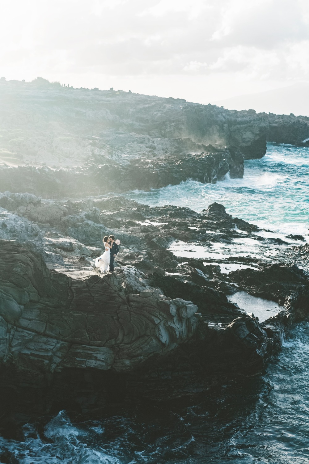 Romantic Ironwoods Beach wedding by Maui Photographer Angie Diaz