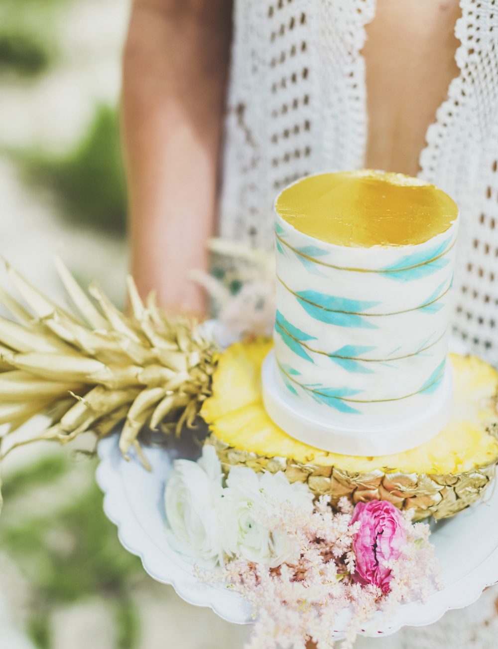 Maui bridal bohemian chic wedding inspiration