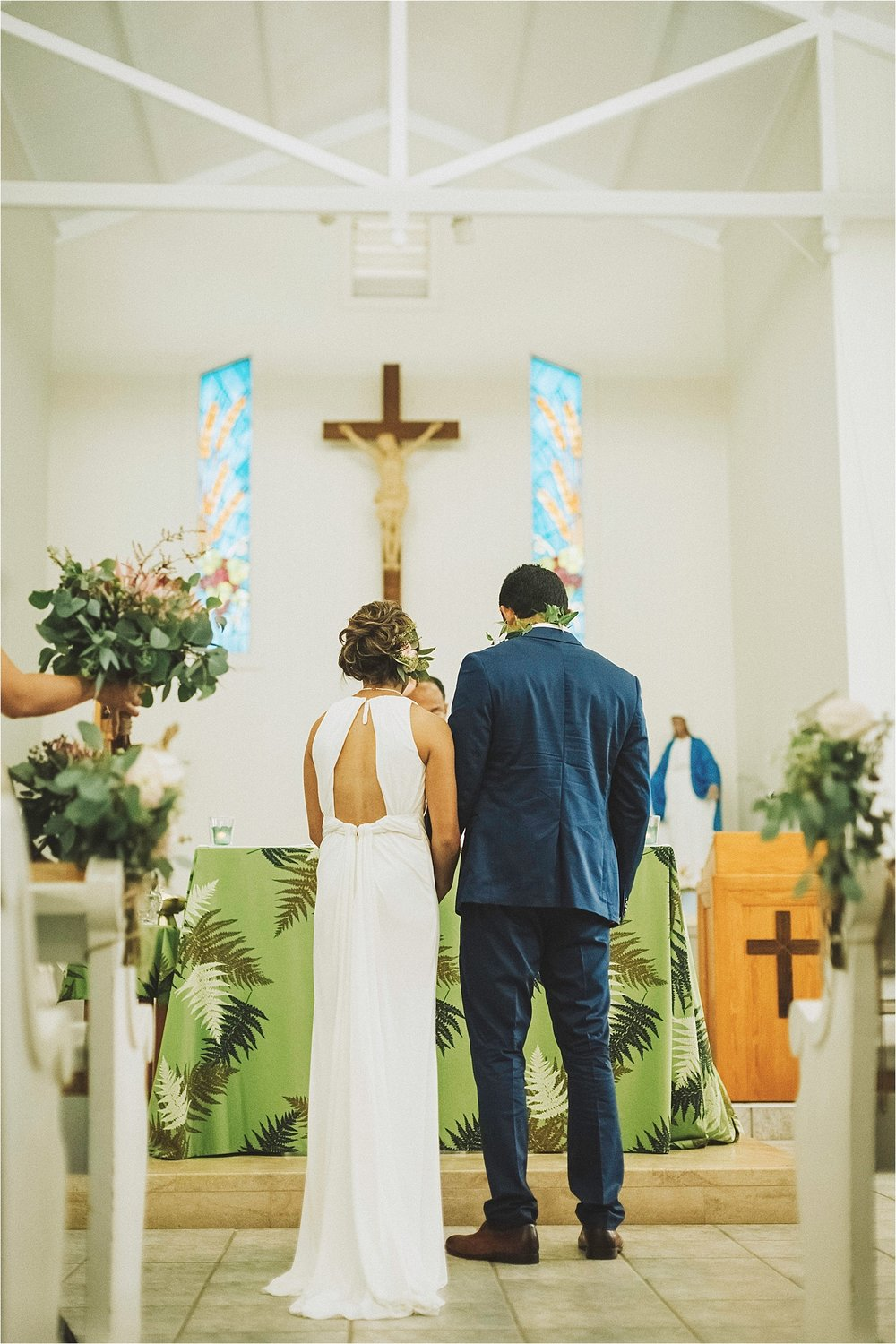 st rita's church maui wedding