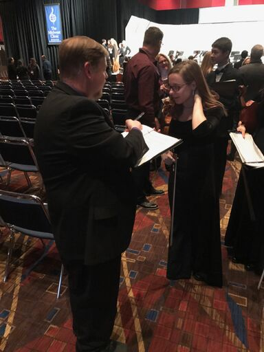 Composer Jason K. Nitsch signs autographs at Midwest!