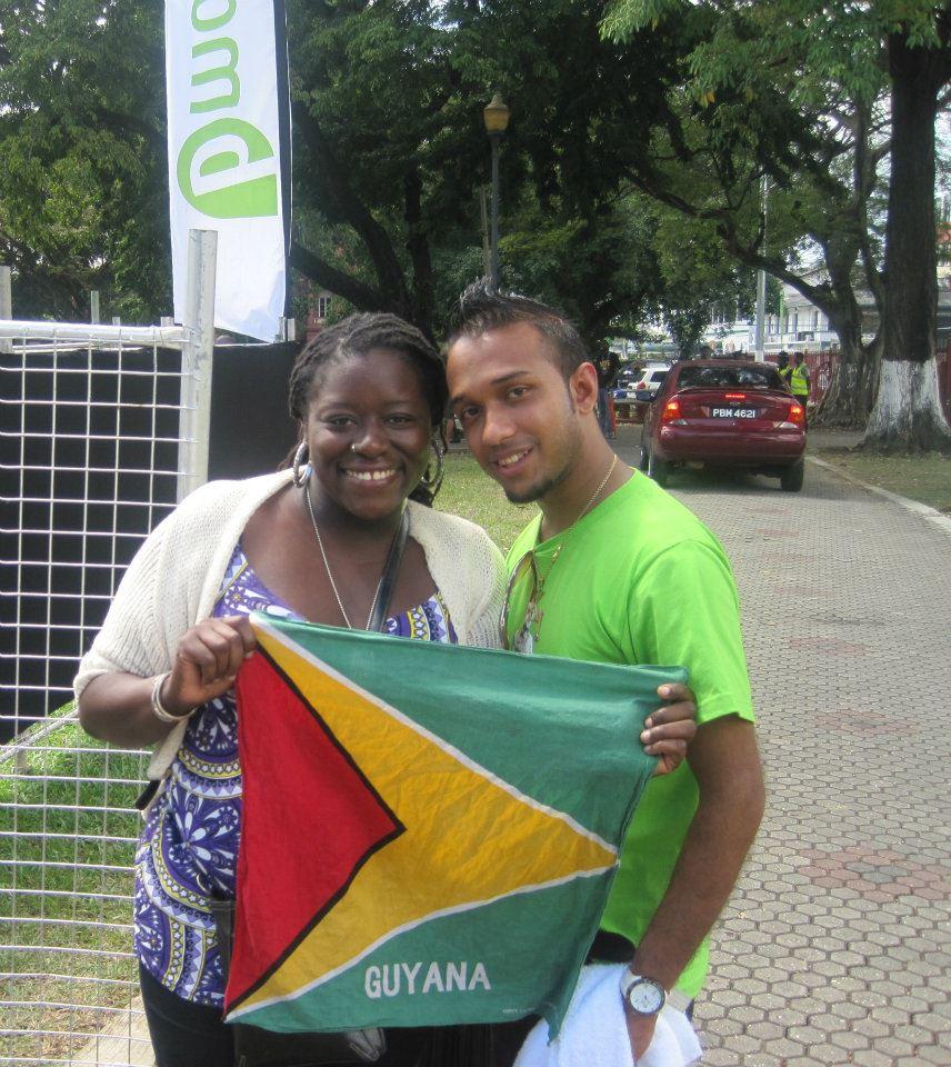 w/ KI at BSquare (Trinidad 2012)