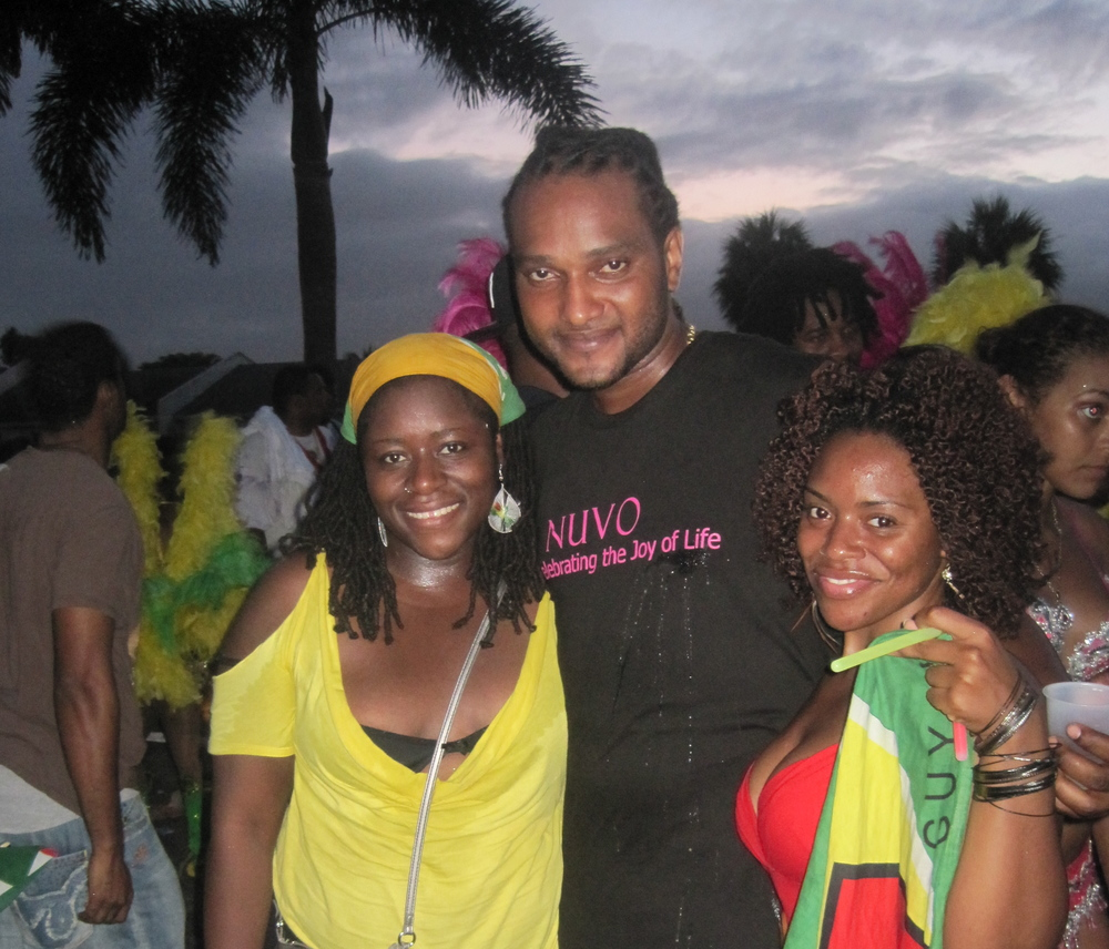 with Cassi (Miami 2011)