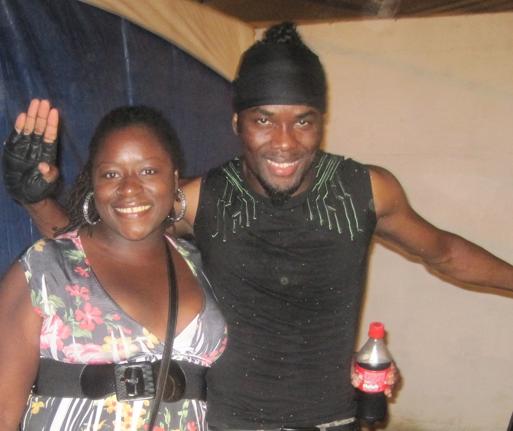 with Swappi (Trinidad 2012)