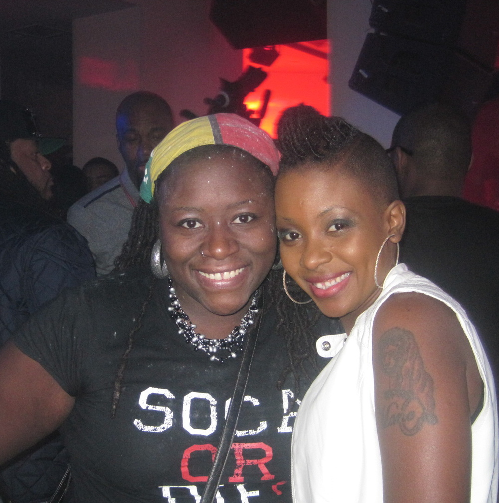 with Fay-Ann Lyons (NYC 2013)
