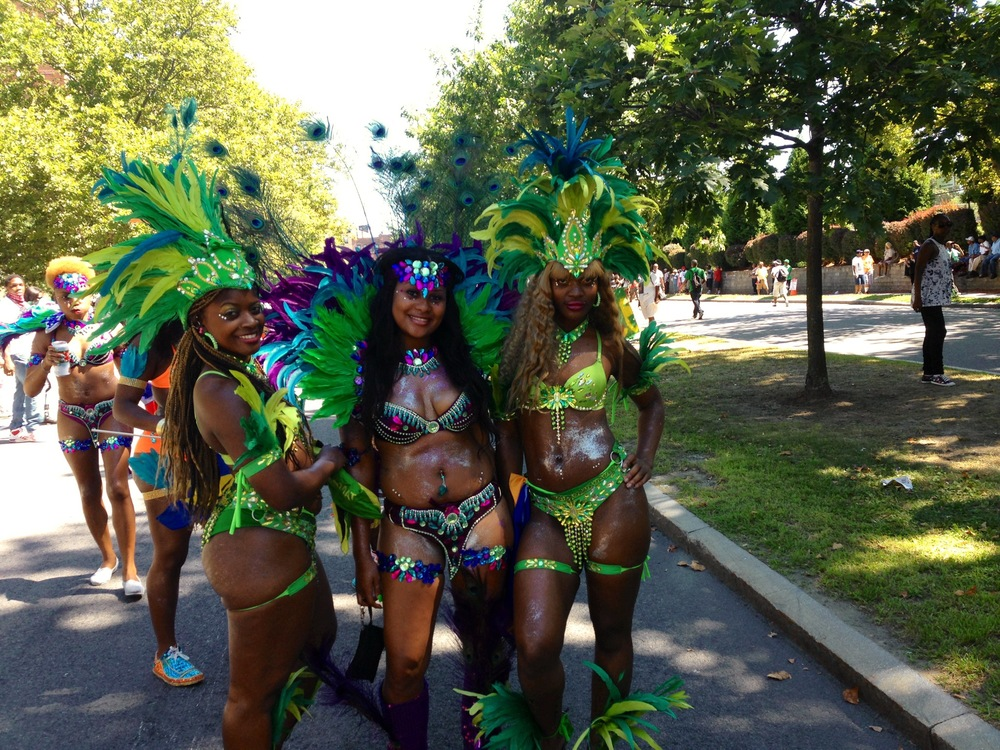 Masqueraders on the road