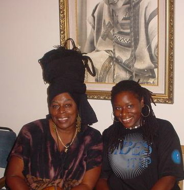 with Ella Andall (Trinidad 2006)