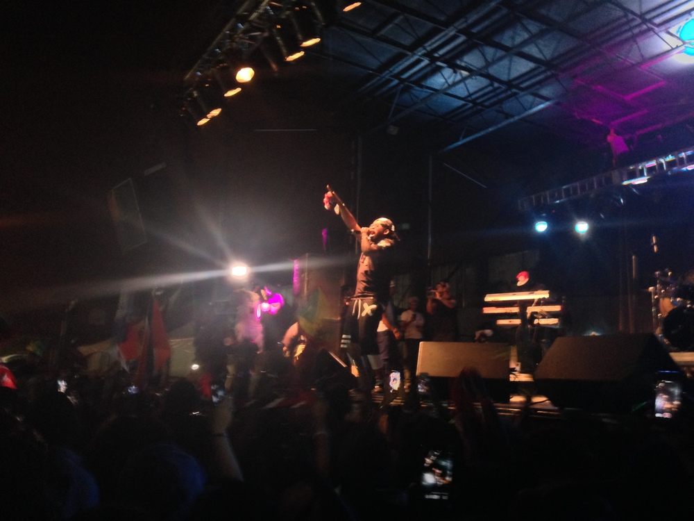 Machel Montano at Wii Carnival