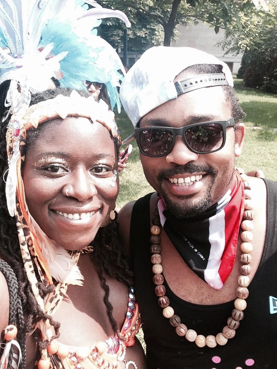 with Machel Montano (Toronto 2014)