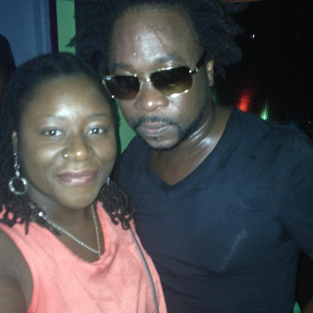 w/ Grenada's Tallpree (Brooklyn 2014)