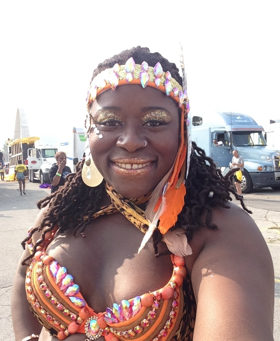 at Toronto Caribbean Carnival/Caribana (Toronto 2014)
