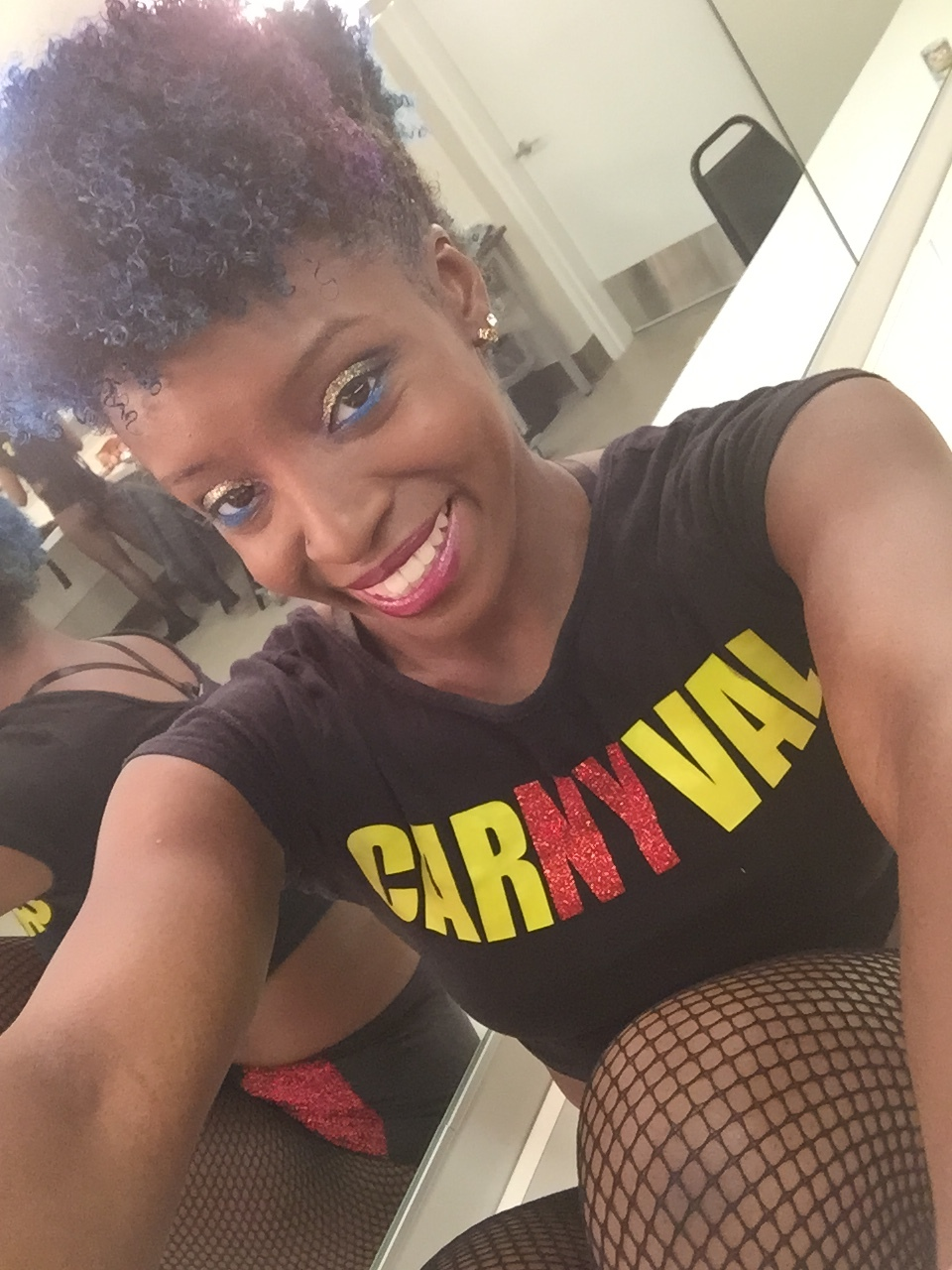 Kiara Ross of CarNYval Dancers