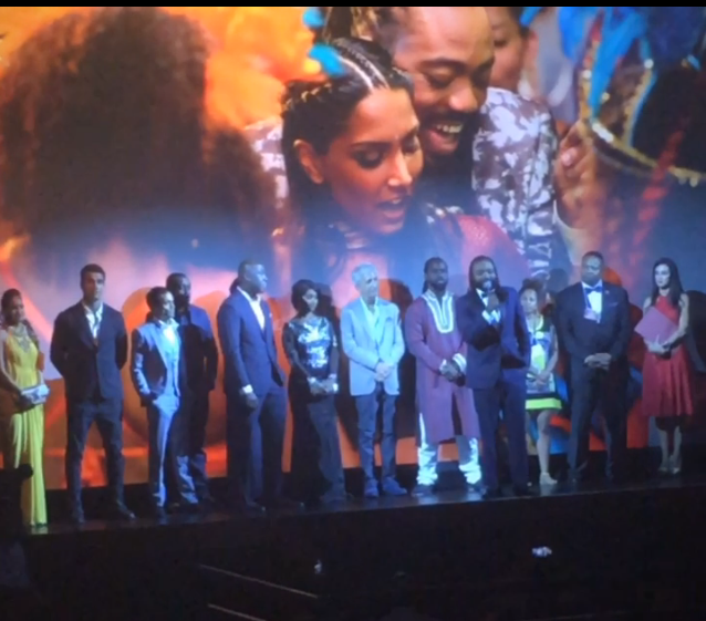 Bazodee cast & crew at the New York City premiere