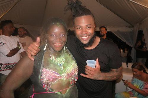 w/ music producer 1st Klase (Miami 2017)