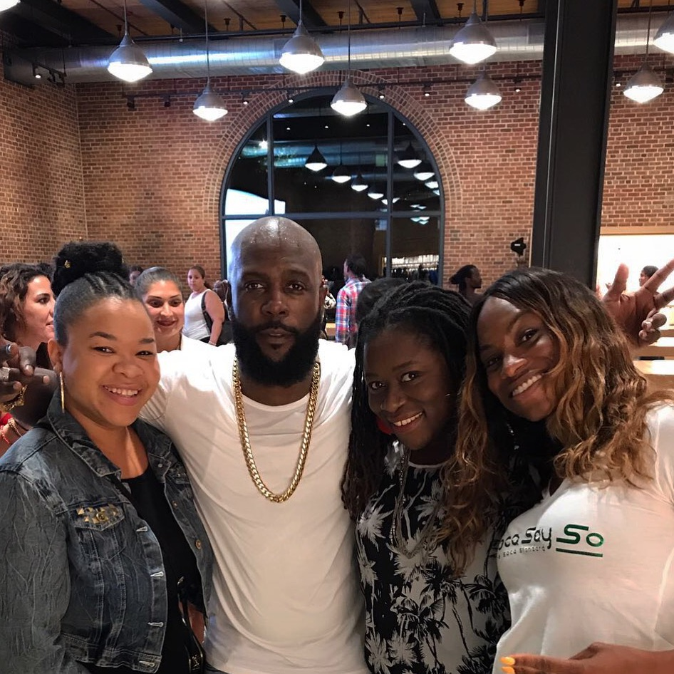 Copy of w/ Bunji Garlin & Blogger Chicks (Brooklyn 2017)