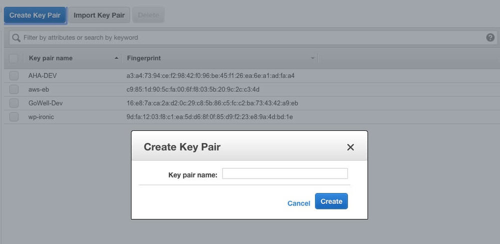 Step 2 - Create a new Key Pair.jpg