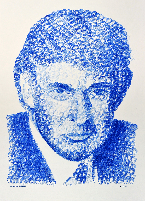 "Donald Donald   ////   20"" x 30""   ////   ink on illustration board"