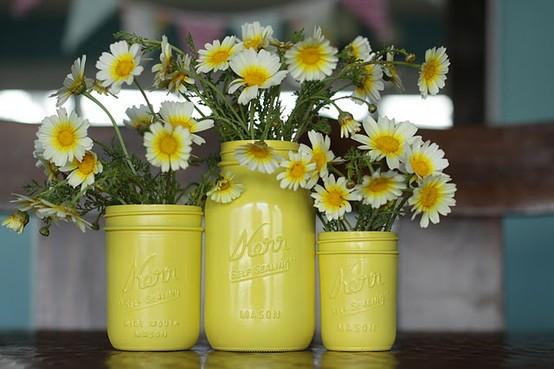 mason jar DIY paint floral containers.jpg
