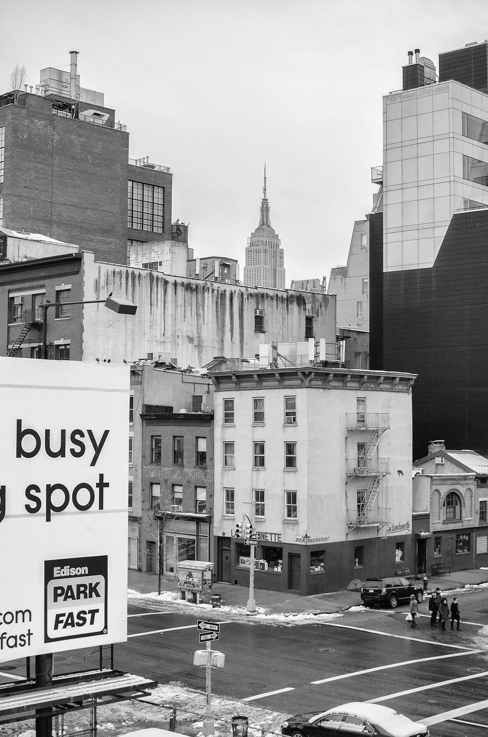 Busy Spot - New York City, USA March 2013