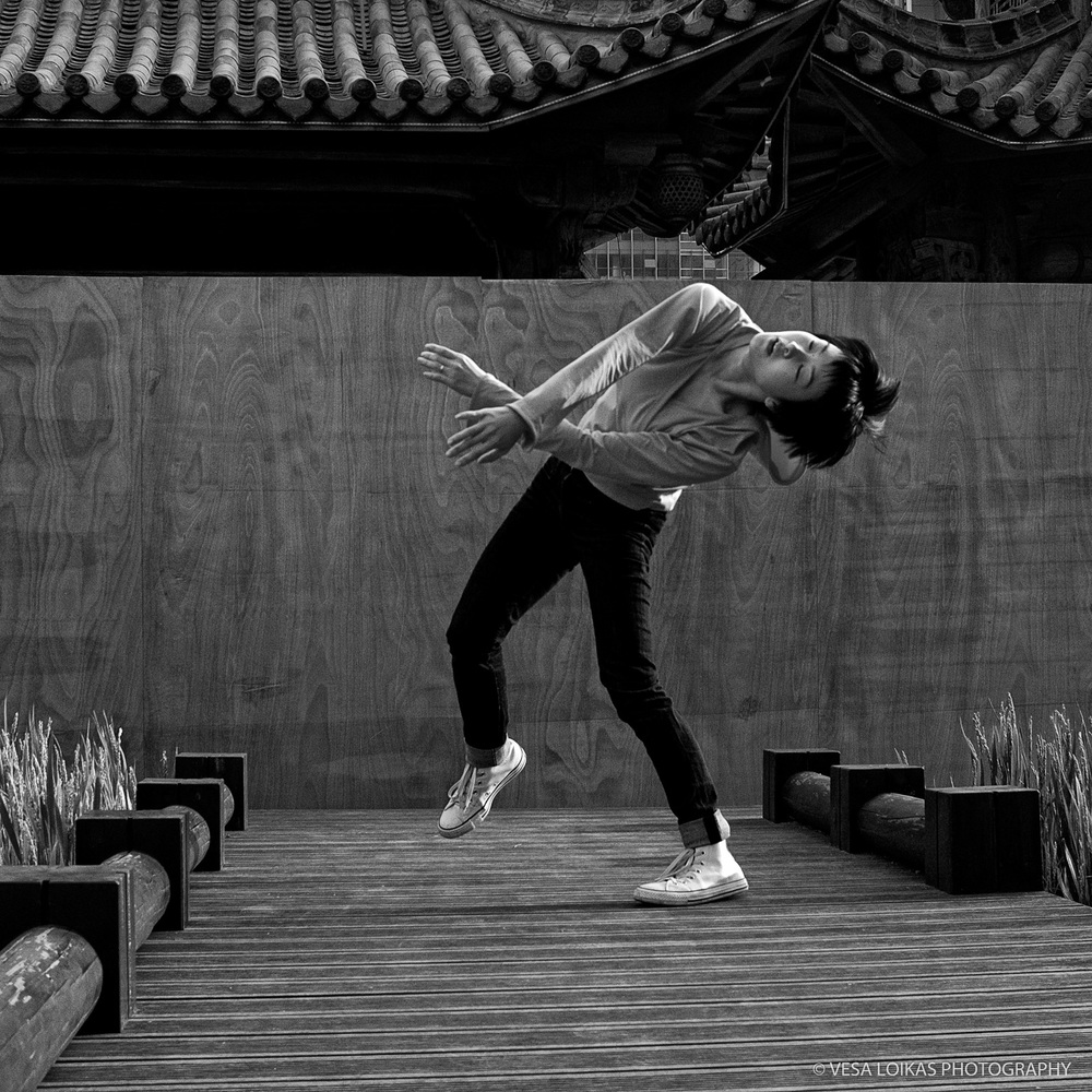 'CHARACTER DANCER' - ALUMINUM 1st EDITION PRINT AVAILABLE  上海证大喜玛拉雅中心 - Zendai Himalayas Center, 1188 Fangdian Road, Pudong New District, SHANGHAI, CHINA - 2014 dancer: Yanan Liu