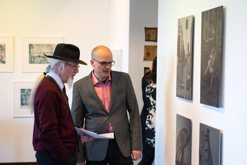 Photography talk - photo by Timo Mäkipää www.pohjoinenikkuna.fi