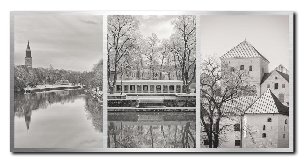 TURKU triptych on ALUMINUM