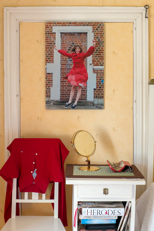 Dancer Xan Burley, Brooklyn, New York City, 2013 -40 x 60 cm print on brushed aluminum