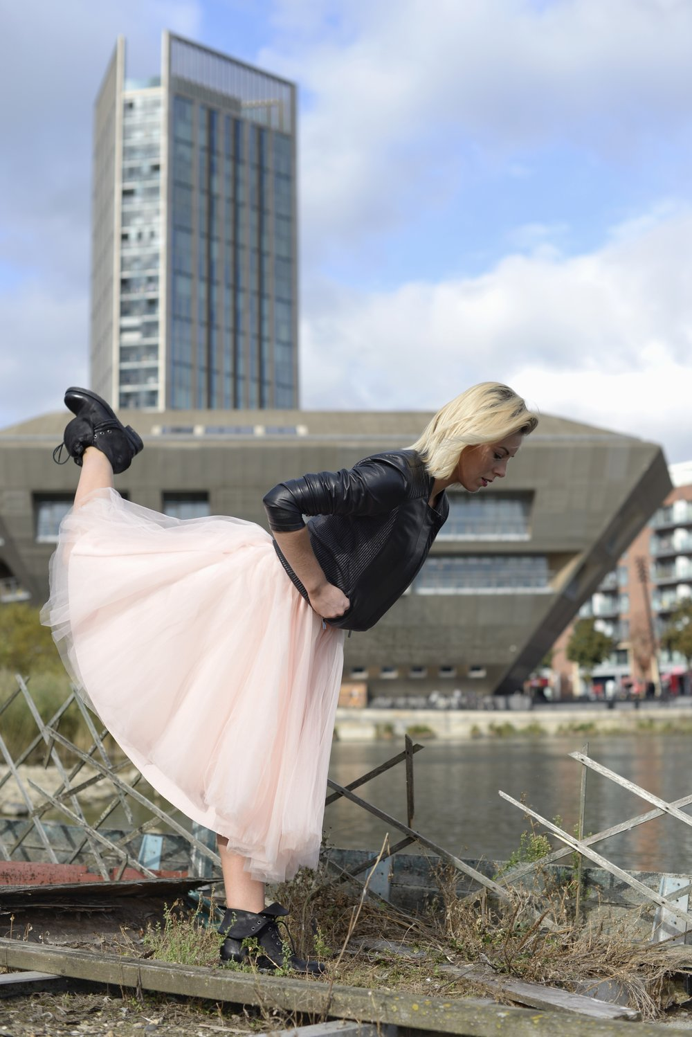 CANADA WATER    ⫩  Canada Water is a freshwater lake and wildlife refuge in Rotherhithe in the Docklands in south-east London.   Dancer:    Ana Badea