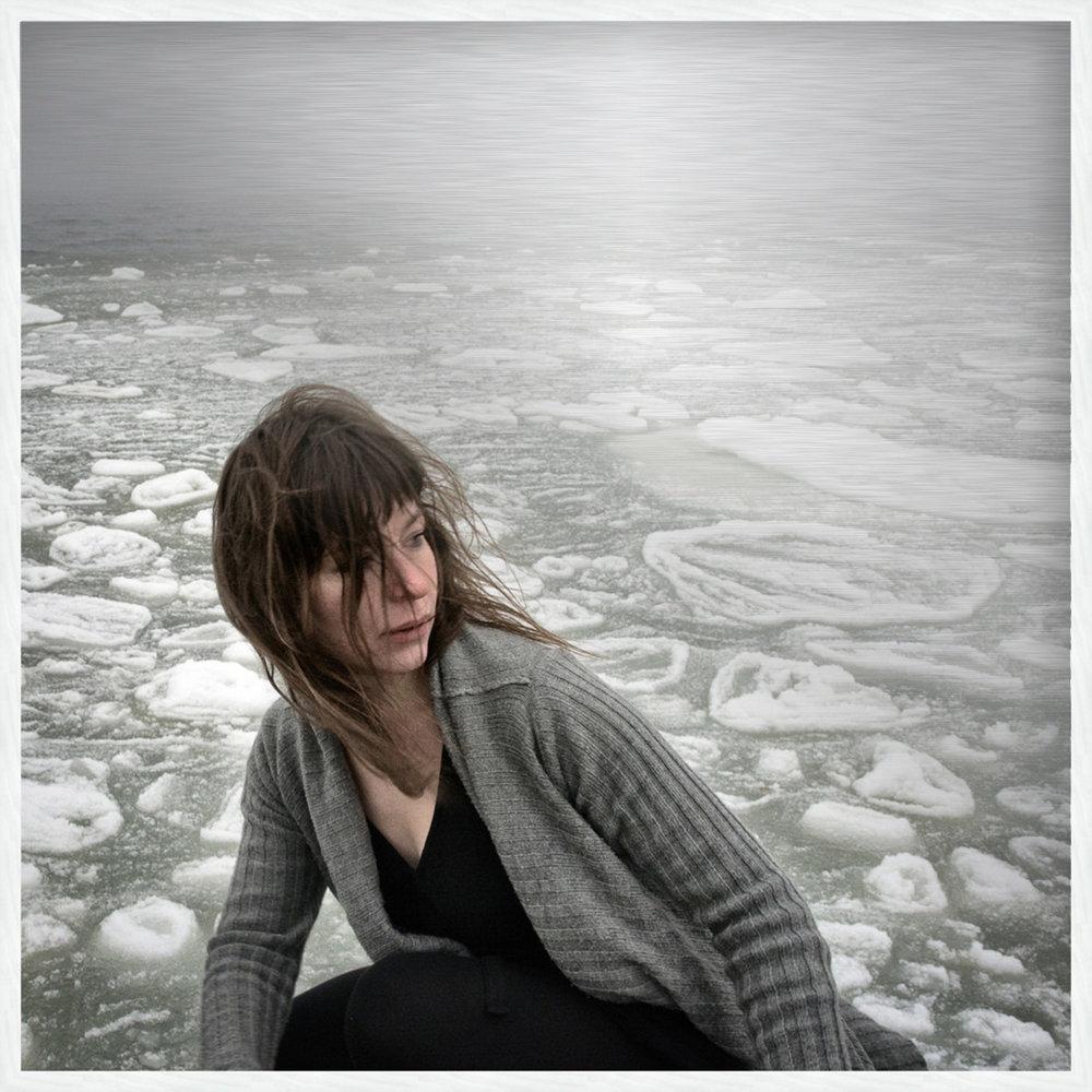 SEACHANGE SERIES - ACT II on Aluminum with White Oak Frame Size: 21 H x 21 W x 4 D [cm] #1/10 SEACHANGE noun: a profound or notable transformation Uunisaari Island, Helsinki, Finland Dancer: Kristiina Turtiainen