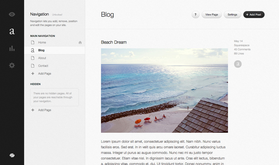 Beach dream blog v2